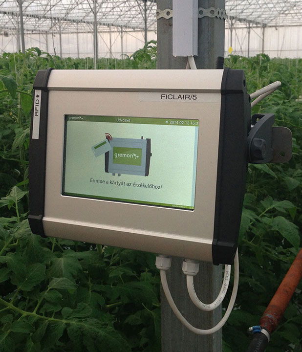 Greenhouse application for Zytronic touch screens