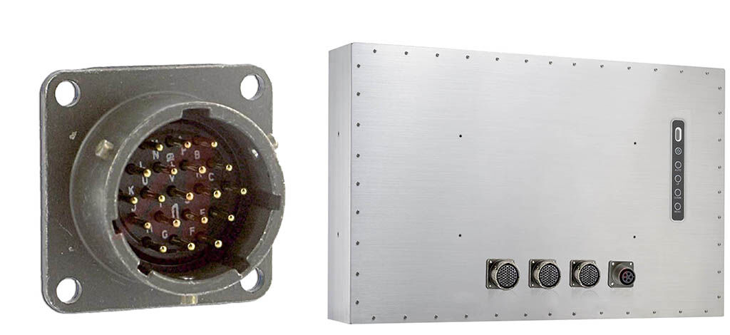 Stainless steel LCD back plate and sockets