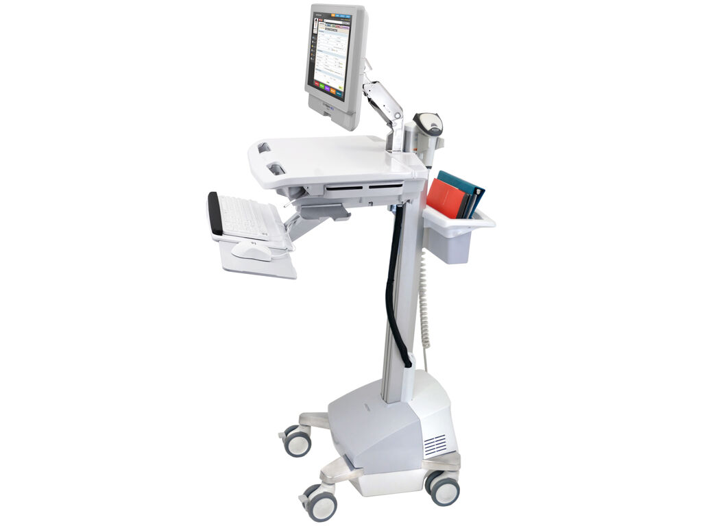 Cybermed Rx Medical Tablet on trolley