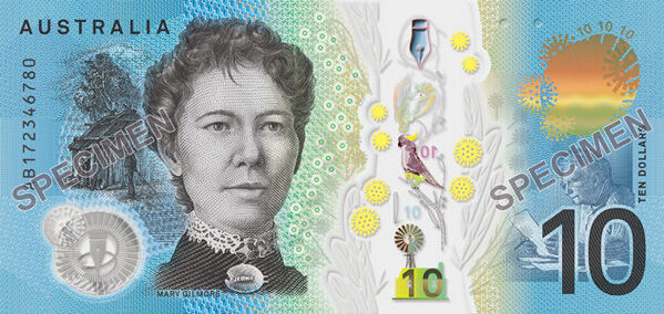 New $10 note 2
