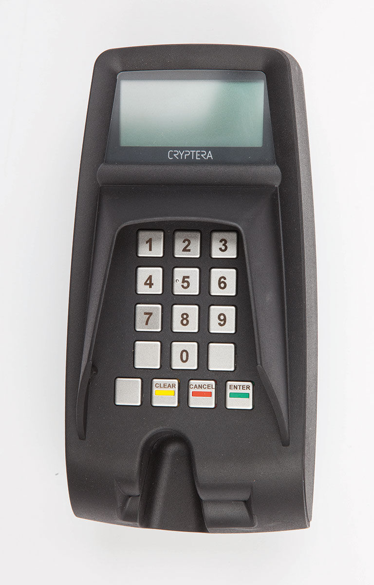 UPT7000 secure payment terminal with PIN Shield
