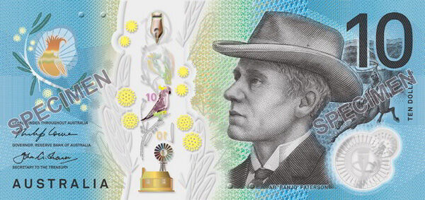 New $10 note