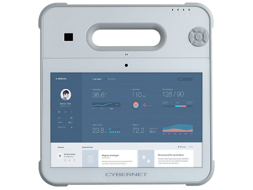Cybermed Rx Medical Tablet front