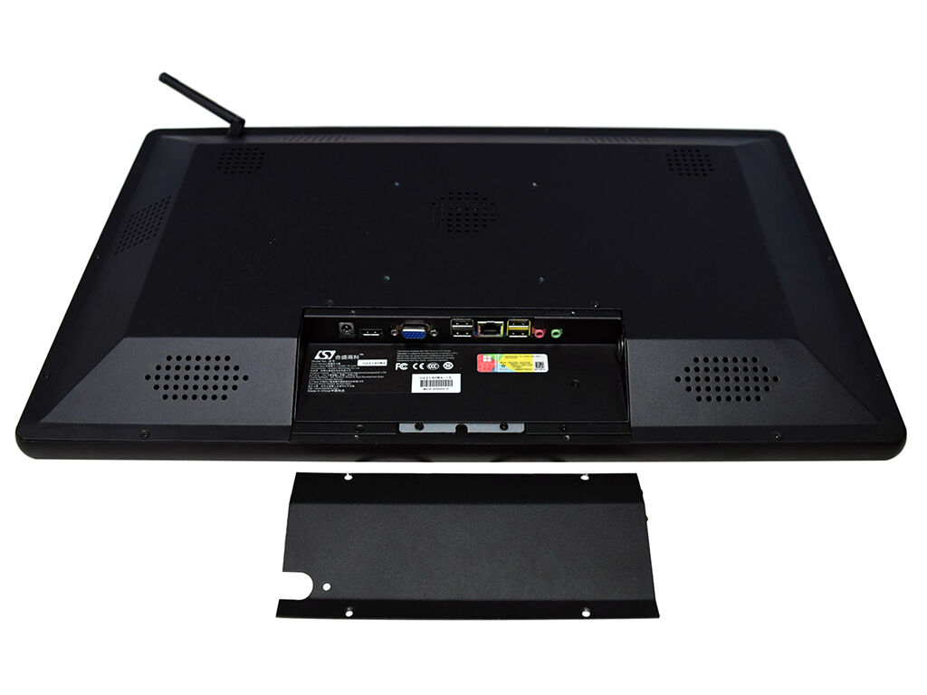 H22 AIO back panel featuring USB, audio, LAN and VGA