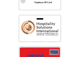 Oracle Micros Cards