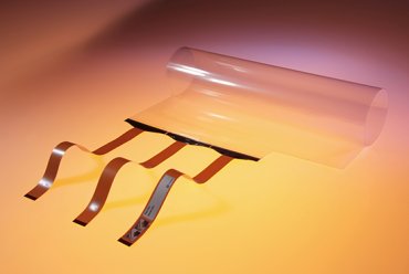 ZYFILM Multitouch - a rollable, flexible Projected Capacitive touch film