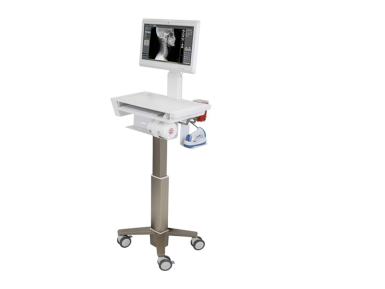 Medical Cart with LCD arm