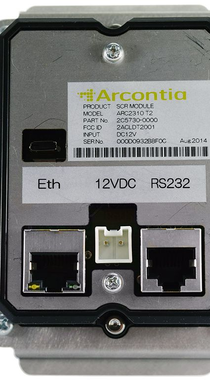 Arcontia ARC2310 T2 e-Ticket Smart Card Reader back