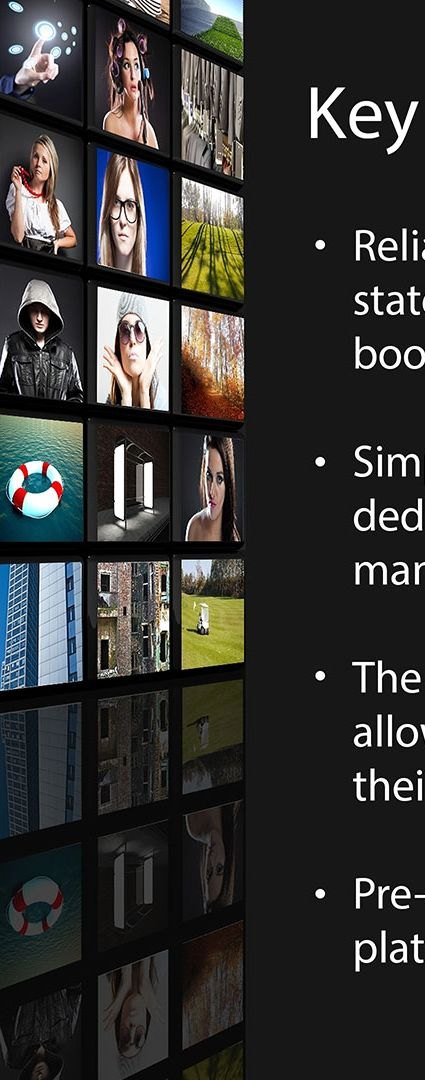 Chameleon for digital signage key benefits