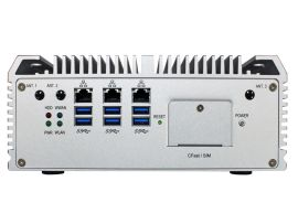 FPC-7800 front panel with LAN, USB and antenna ports