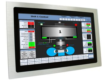Kingdy industrial all in one PCs and touch monitors being used in industrial automation