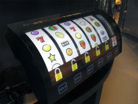 A multi touch curved glass touch screen