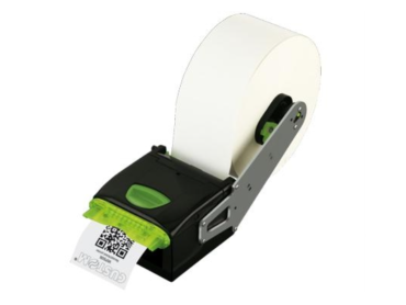 Custom VKP80III thermal printer with paper roll holder