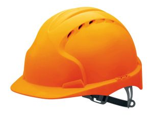 EVO hard hat in orange